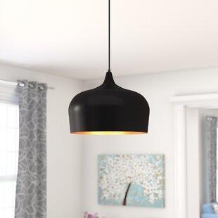 Bitner 1-Light Dome Pendant