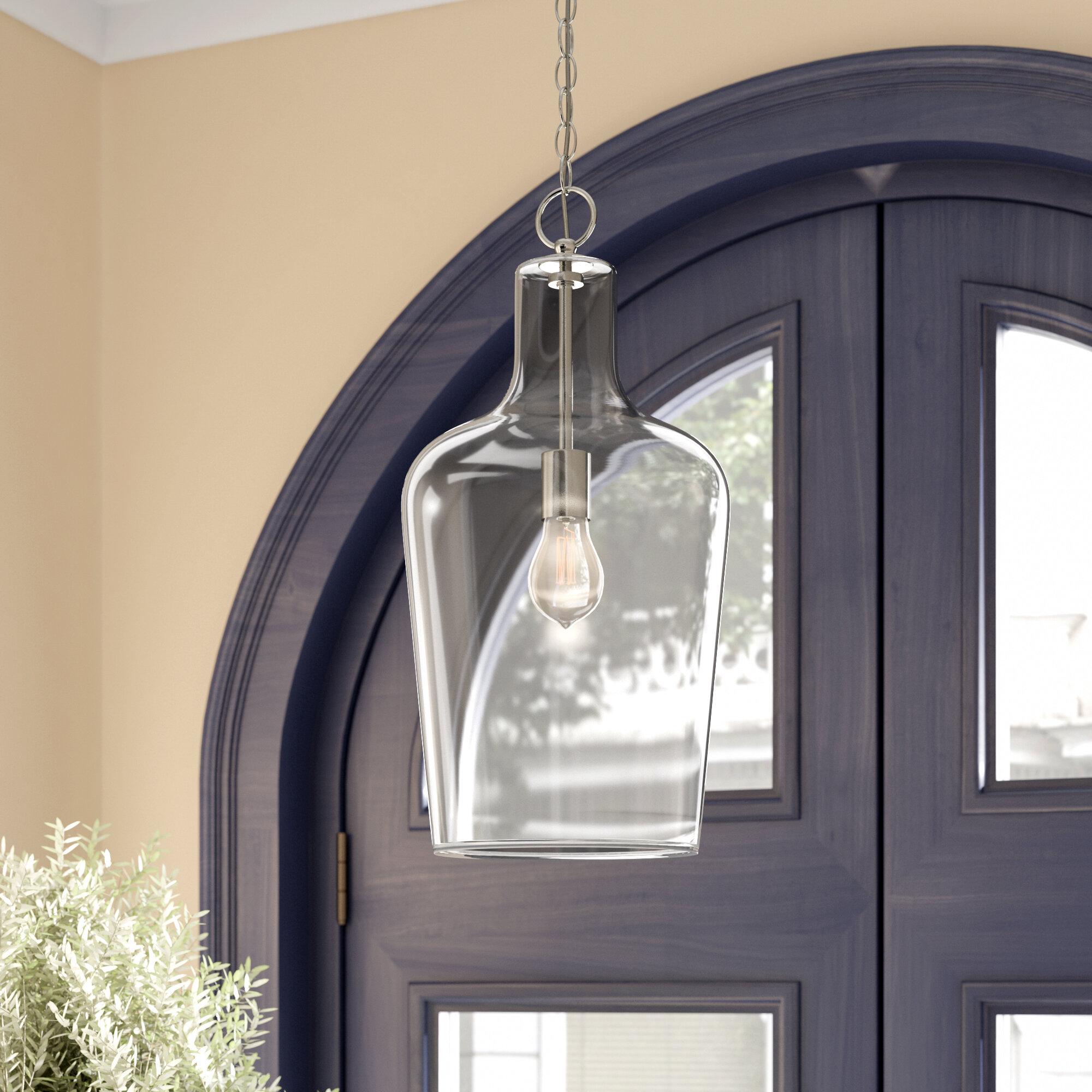 Laurel Foundry Modern Farmhouse Carey 1 Light Single Bell Pendant Reviews Wayfair