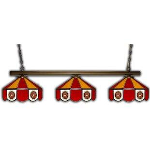 ALL AMERICAN LAMPS 3-Light Pool Table Light
