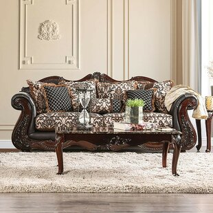 Buy luxury Saldana Sofa by Fleur De Lis Living Reviews (2019) & Buyer's Guide