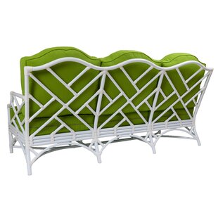 Chippendale Patio Sofa with Cushions by David Francis Furniture