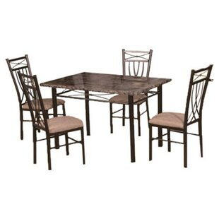 Red Barrel Studio Branden 5 Piece Dining Set