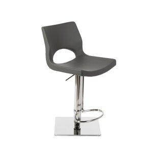 Orren Ellis Ascella Modern Adjustable Height Swivel Bar Stool