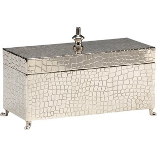 Comparison Footed Metal Box By Wildwood