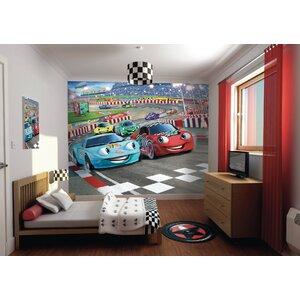 Walltastic Wall Art Car Racers Wall Mural
