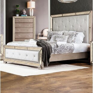 Alysa Upholstered Panel Bed
