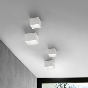ZANEEN design 1-Light LED Flush Mount
