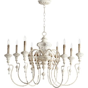 White antique chandelier wayfair save aloadofball Images