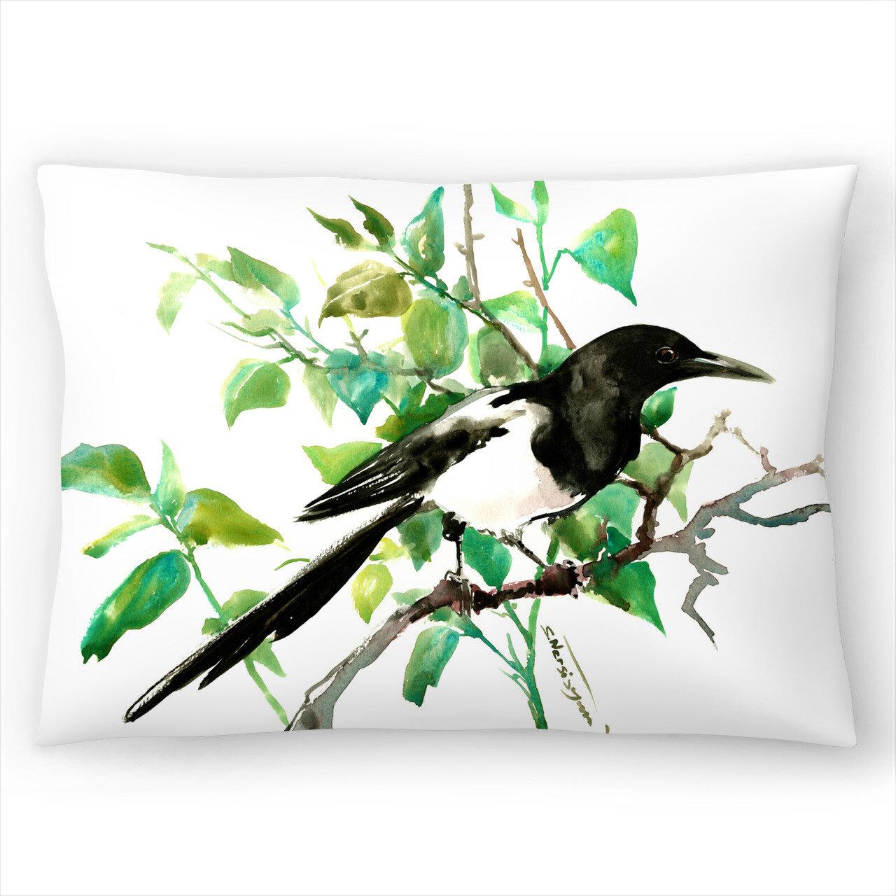 East Urban Home Magpie Lumbar Pillow Wayfair