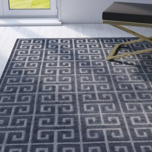 Emerson Black/Charcoal Indoor/Outdoor Area Rug