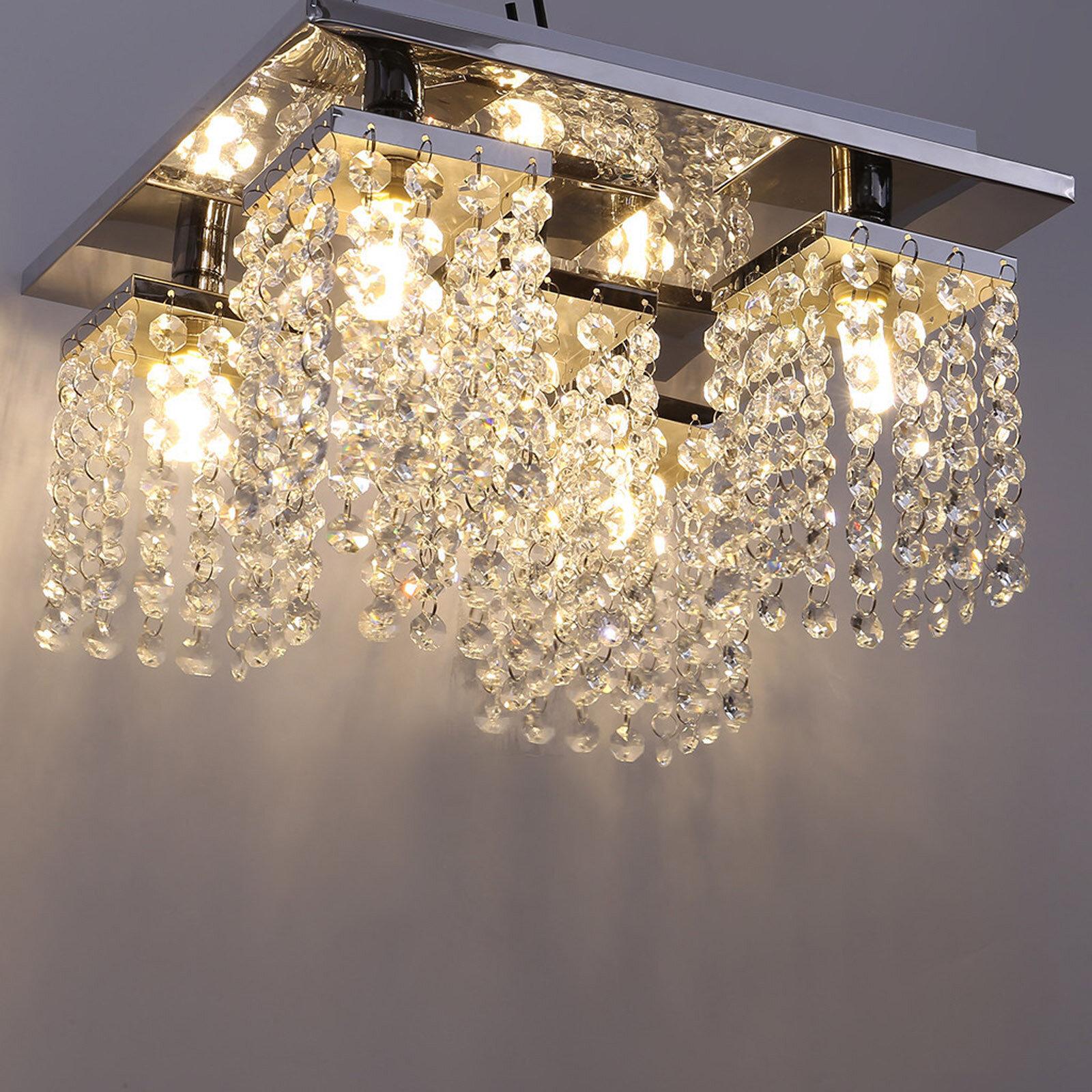 House Of Hampton 5 Lights Modern Crystal Chandelier Wayfair