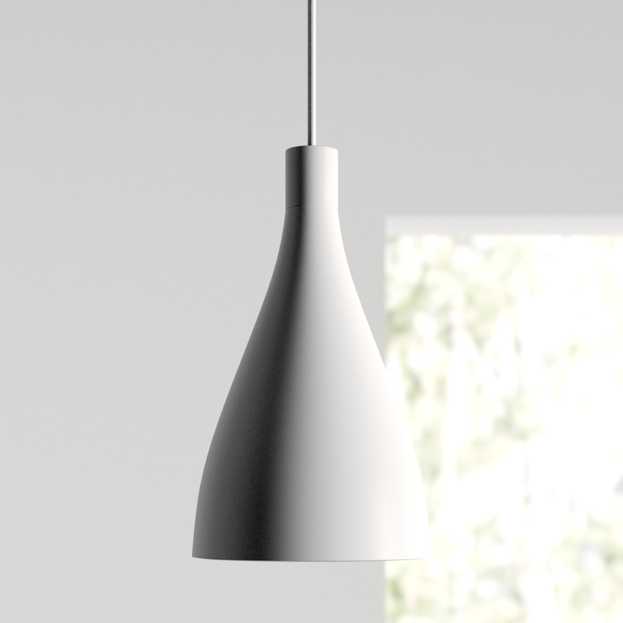 foto de Swell 8 - Light Cone Bell Pendant & Reviews | AllModern