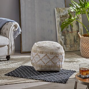 Beliveau Boho Pouf by Bungalow Rose