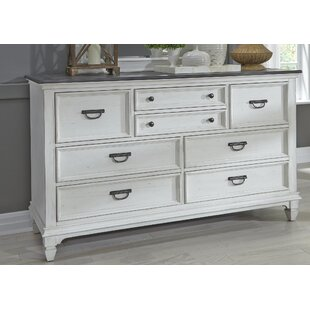 Ophelia & Co. Gerth 8 Drawer Double Dresser