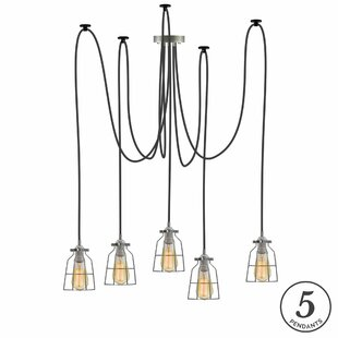 Ian 5-Light Cluster Pendant by 17 Stories