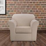 Ultimate Heavyweight Stretch Leather 2 Piece Box Cushion Armchair Slipcover Set by Sure Fit