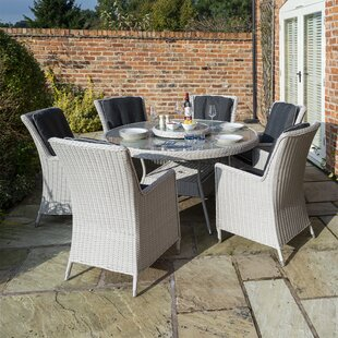 Bolinas 6 Seater Dining Set By Sol 72 Outdoor