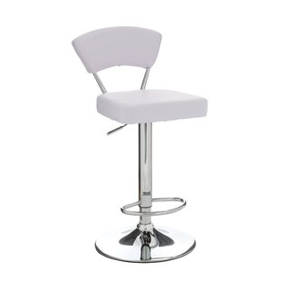 Anya Swivel Adjustable Bar Stool By Symple Stuff
