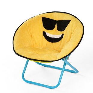 Liesl Emoji Saucer Kids Chair by Zoomie Kids