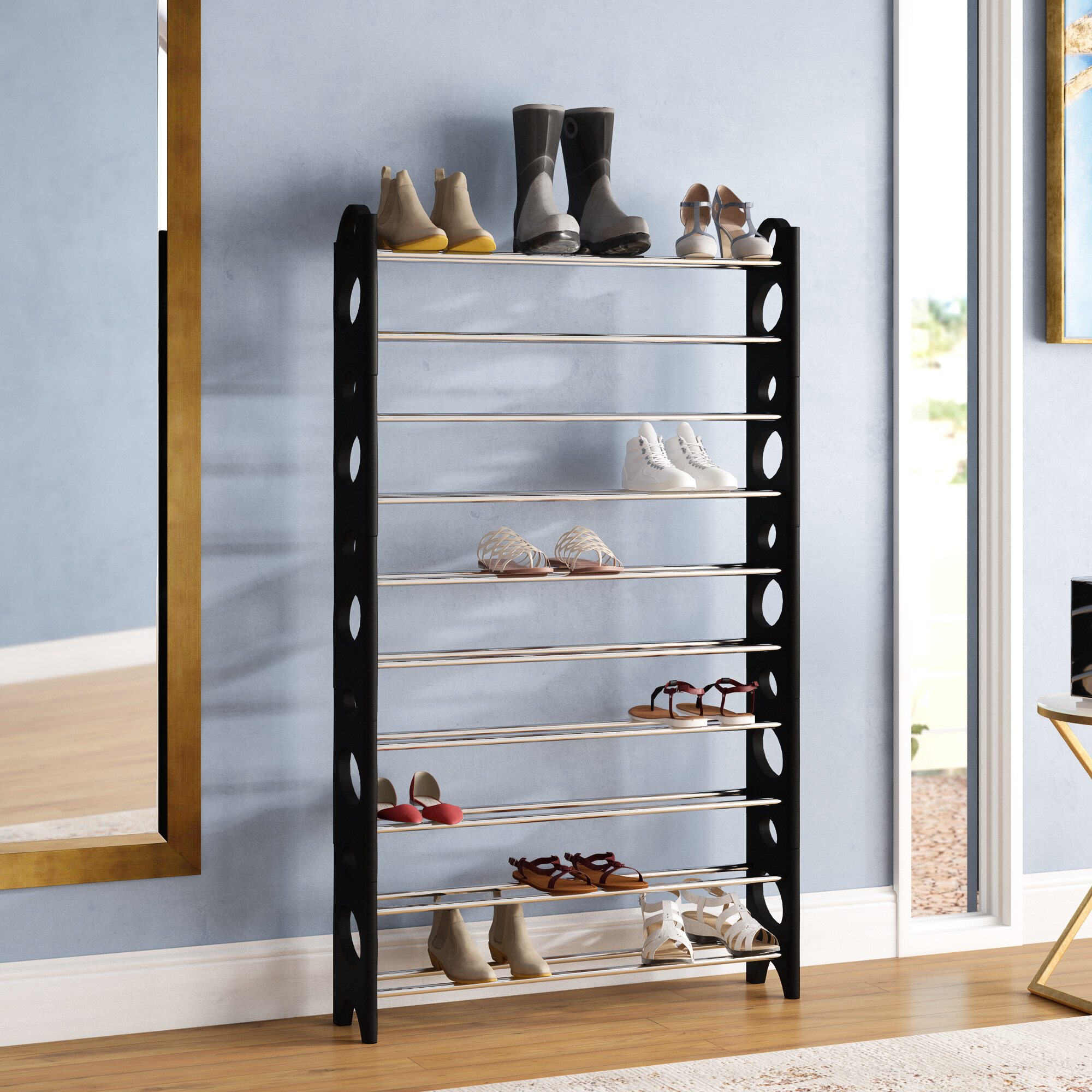 Metal Shoe Storage You Ll Love In 2020 Wayfair