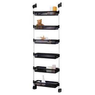 Prestridge Overdoor 6 Shelf Cabinet Door Organizer by Rebrilliant #2