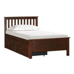 Rosina Twin Slat Bed With Storage By Simmons Casegoods by Beachcrest Home Spacial Price