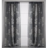 Ivory And Cream Toile Curtains D