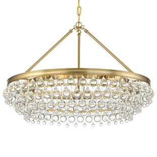 Whyalla 6-Light Crystal Chandelier by Wil..
