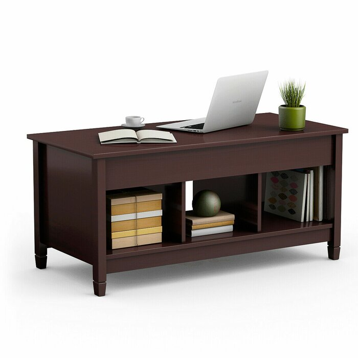 Highland Dunes Alina Lift Top Coffee Table With Storage Reviews