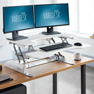 ProPlus Height Adjustable Standing Desk Converter