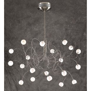 Orren Ellis Medrano 20-Light Sputnik Chandelier