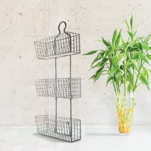 Wall Wire Baskets | Wire Wall Mounted Baskets Wayfair