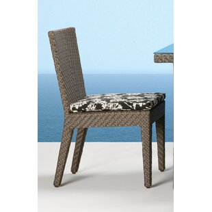 Ferraro Stacking Patio Dining Chair with Cushion