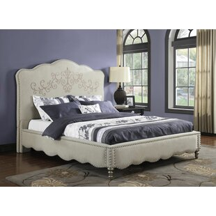Lesser Upholstered Platform Bed by House of Hampton 2019 Sale