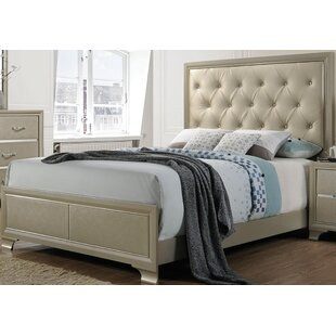 Zed Upholstered Panel Bed