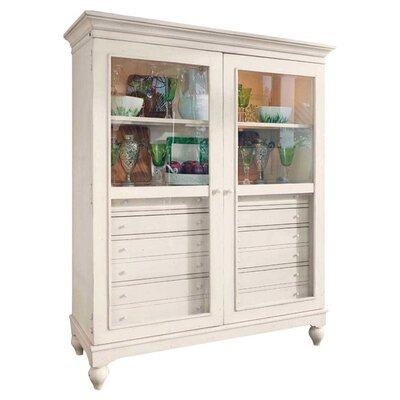 Bellows Lighted Display Stand Color: Linen by Darby Home Co