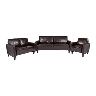 Bellago 3 Piece Living Room Set by Ebern Designs