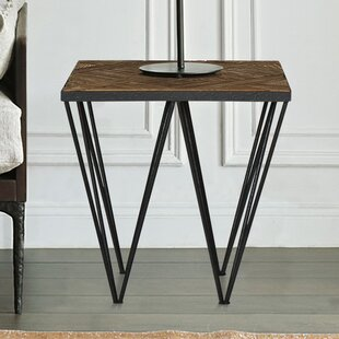 Compare & Buy Punta Reclaimed Elm Wood End Table by Magari Reviews (2019) & Buyer's Guide