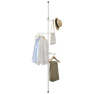 30cm Wide Clothes Rail By Symple Stuff