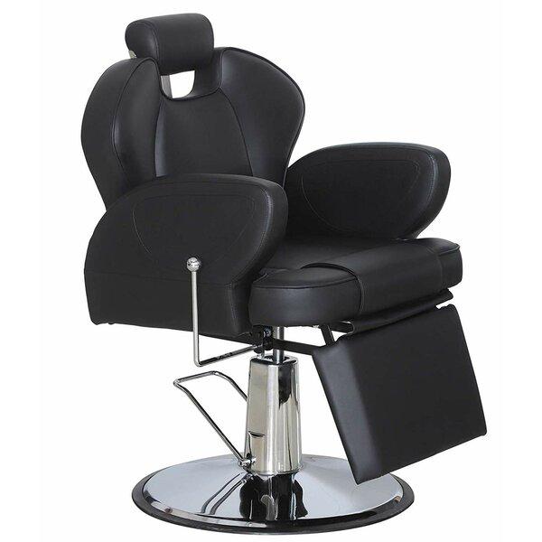 Symple Stuff Addison Leather Guest Chair Wayfair