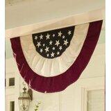 Americana Traditional Pleated Flag