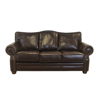 Westford Leather Sofa by Westland and Birch SKU:EE608563 Description