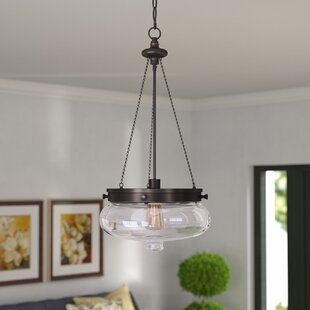 Three Posts Bateson 1-Light Urn Pendant