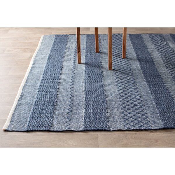 Estate Hand-Woven Blue Indoor/Outdoor Area Rug & Reviews | Birch Lane