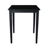 Geneseo Counter Height Rubberwood Solid Wood Dining Table