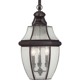 Mellen 3-Light Incandescent Outdoor Wall Lantern By Three Posts Outdoor Lighting