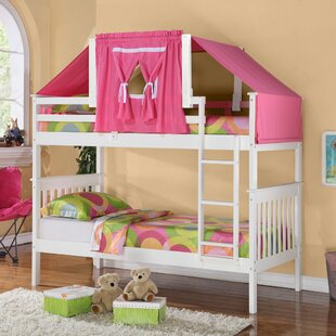 Order Solar Twin over Twin Bunk Bed by Harriet Bee Reviews (2019) & Buyer's Guide