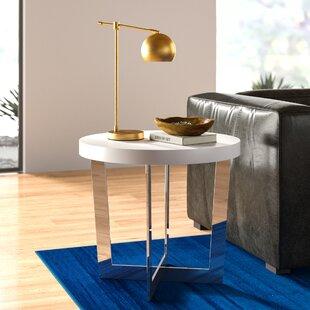Modern Cross Leg Base End Side Tables Allmodern
