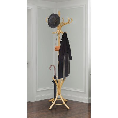 Baconton Coat Rack Darby Home Co Color: Natural