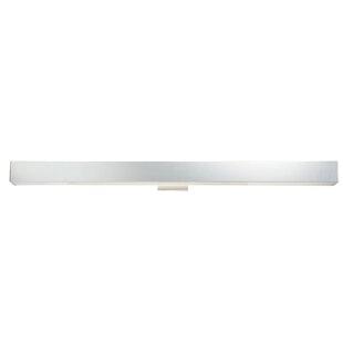 Latitude Run Briley Rectangular 1-Light White LED Bath Bar